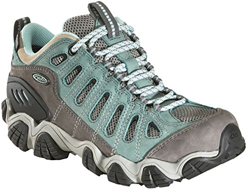 Oboz Sawtooth Low BDry Hiking Shoe - Women's-Mineral 21402-Mineral Blue-8.5