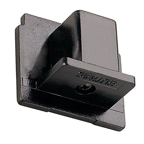 EUTRAC Endkappe für 3-Phasen HV-Schiene schwarz