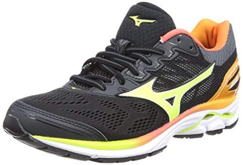zapatillas mizuno wave rider 22 uomo black