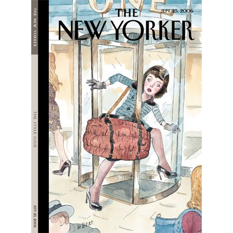The New Yorker (Sept. 25, 2006) audiobook cover art