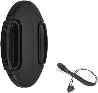 JJC 37mm Thread Center Pinch Snap Front Lens Cap Cap Keeper for Canon ...