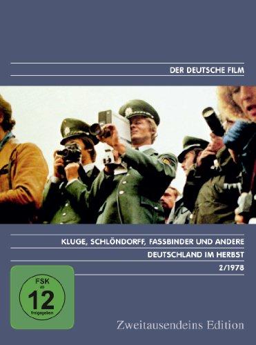 Deutschland Im Herbst - Zweitausendeins Edition Deutscher Film 2/1978.