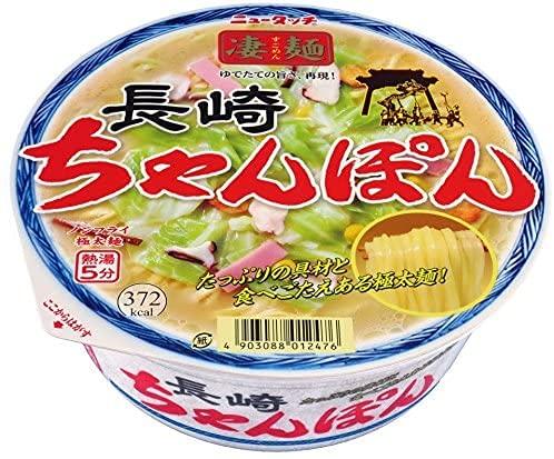 【ザワつく金曜日】ご当地ラーメンNo1決定戦 ニュータッチ 凄麺長崎ちゃんぽん 2個セット