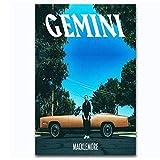 A&D Macklemore Poster und Drucke Hot Gemini Custom Rap