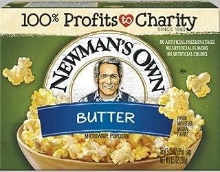 Newman's Own Microwave Popcorn, Butter Pop, 10.5 Ounce