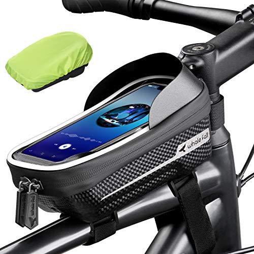 whale fall Reflective Bike Frame Bag Bicycle Phone Bag Bike Phone Holder...