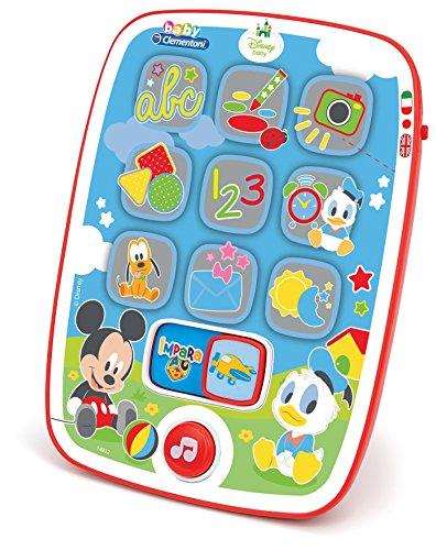 Clementoni - Baby Mickey Tablet per Bambini, Multicolore, 9-36 Mesi, 8005125149124