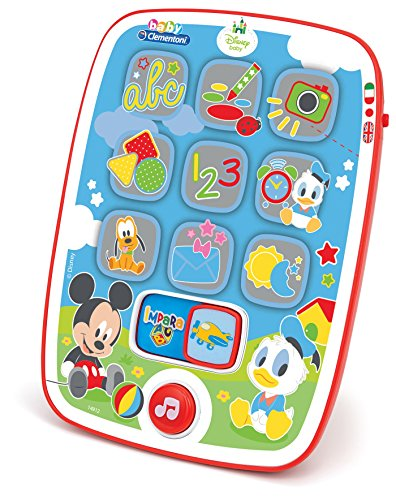 tablet giocattolo Clementoni 14912 - Mickey Pad