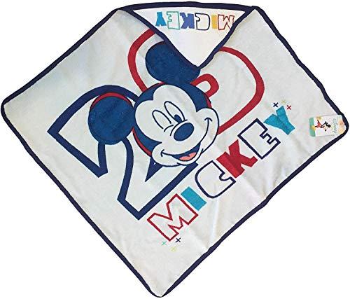 Accappatoio Triangle Mickey Mouse Disney Serviette en coton 67 x 67 cm