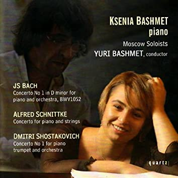 Bach, Schnittke, Shostakovich: Concertos - Moscow Soloists