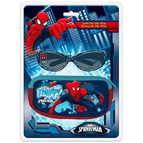 ASTRO EUROPA Blister gafas sol Spiderman Marvel funda