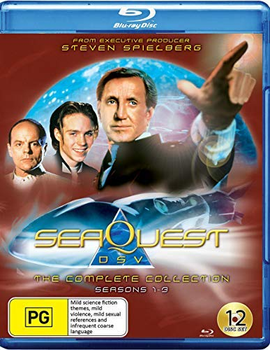 SeaQuest DSV - Complete Collection - 12-Disc Boxset ( SeaQuest 2032 ) ( Sea Quest (Seasons 1-3) ) [ Origen Australiano, Ningun Idioma Espanol ] (Blu-Ray)