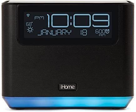 new arrival iHome iAVS16 Bedside Speaker with Alexa Built 2021 In, Bluetooth, online sale and USB Charging, Now Supports Spotify by Voice online