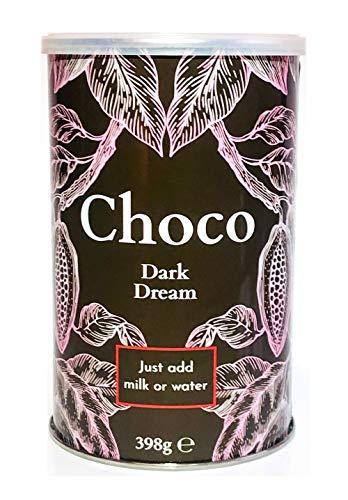 Nordic Roast | Kakao Trinkschokolade | Dark Dream | 398g reicht für 15 Tassen | Instant-Pulvermischung für zu Hause, im Café, oder im Restaurant