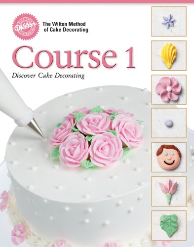 Wilton 902-240 48-Page Soft-Cover Cake-Decorating Guide, Course 1