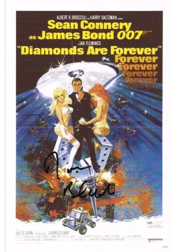 Diamonds Are Forever–Don Nero autografata Aftal Certificato di autenticità