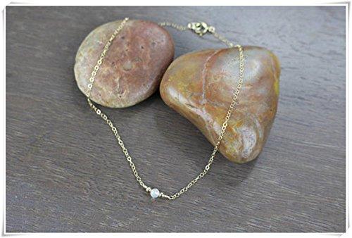 Opal collares, diario collares, bolsita regalos, exquisito joyas, Pure hecho a mano