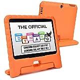 Cooper Dynamo [Funda Resistente] para Samsung Tab 4 10.1, Tab 3 10.1   Carcasa Tableta, Protector Pantalla (Naranja)