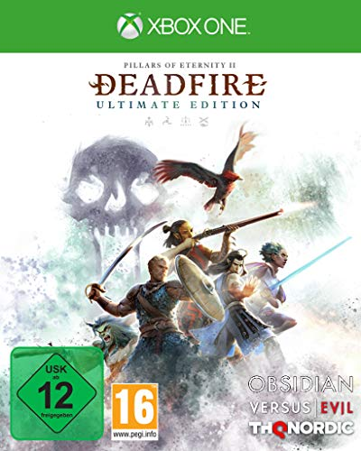 THQ Pillars of Eternity II: Deadfire, Xbox One Jeu vidéo Basique Pillars of Eternity II: Deadfire, Xbox One, Xbox One, RPG (Role-Playing Game), M (Mature)