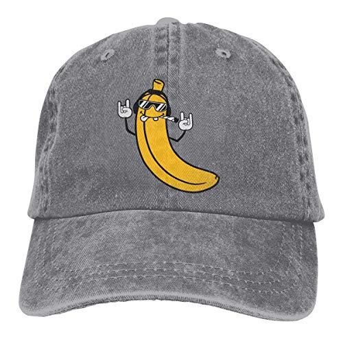Lotus hoja fragancia gafas de sol Cool Auriculares Banana Hat Unisex Elegante Deportes Ajustable Cowboy Cap Gorra de béisbol