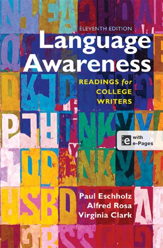 Language Awareness: Readings for College Writers