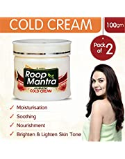 Roop Mantra Cold Cream, Kesar Malai, 100g (Pack of 2)