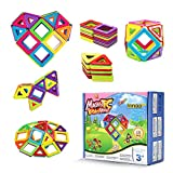Innoo Tech Gran tipo de bloques de construcción magnéticos, juego de construcción, juguete educativo ideal para niños y niñas, coordinación y para construir en regalo
