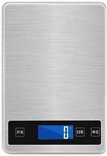 Básculas Balanza de Cocina electrónica de bicarbonato de Herramientas doméstica pequeña Comida Escalas de Carga de pesaje de precisión de calorías Resistente Cocina