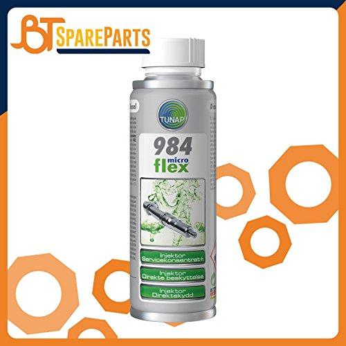 TUNAP 984 Injektor Direkt-Schutz 200 ml Schützt effektiv vor kraftstoffbedingten Ablagerungen
