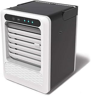 Wxhwhx Mini USB Portátil De Refrigeración por Agua Oficina Hogar Pequeño Ventilador Aire Acondicionado Enfriador De Plata