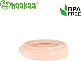 Haakaa Gen. 3 Silicone Baby Bottle Nipple Fixing Ring, Nude - 1 pc
