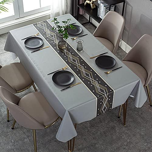 marca blanca Mantel de color puro para manteles de cocina rectangulares decorativos 137 x 100
