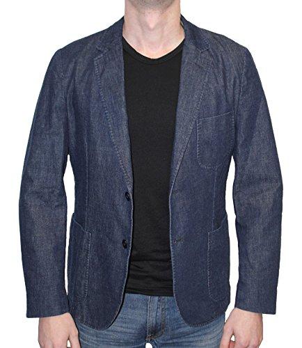 GANT Herren Sakko Blazer Jeans Blau O. The Denim Blazer