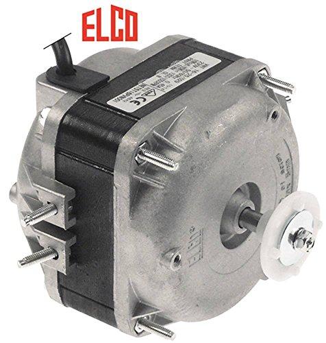 Elco Ventilador Motor 1300/1550u/min 16 W 230 V conector Cable Rodamiento de deslizamiento 50/60Hz 500 mm