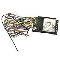 L'alimentation 12v doit être fusionné à 15A The smart relay will sense the input and output ce dernier relais ne consomme que 0,001 A (1mA) Facile à fil Fournit avertisseur sonore