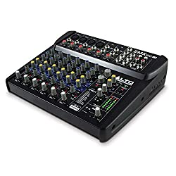 Alto Professional ZMX122FX 8 Channel Compact Audio Mixing Desk Review