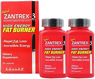 Zoller Laboratories ザントレックス3ハイエナジーファットバーナー 2ボトル(56caps×2) [並行輸入品]