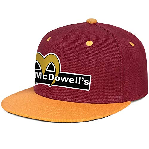 Coming-To-America-Movie-2-McDowell's- Men Cowboy Outdoor Caps ColorName Playing Hats