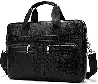 2019 Maletines Business Men Handbag 100% Premium Cow Leather Bag Men Messenger Bags Best Laptop Bags with Handle