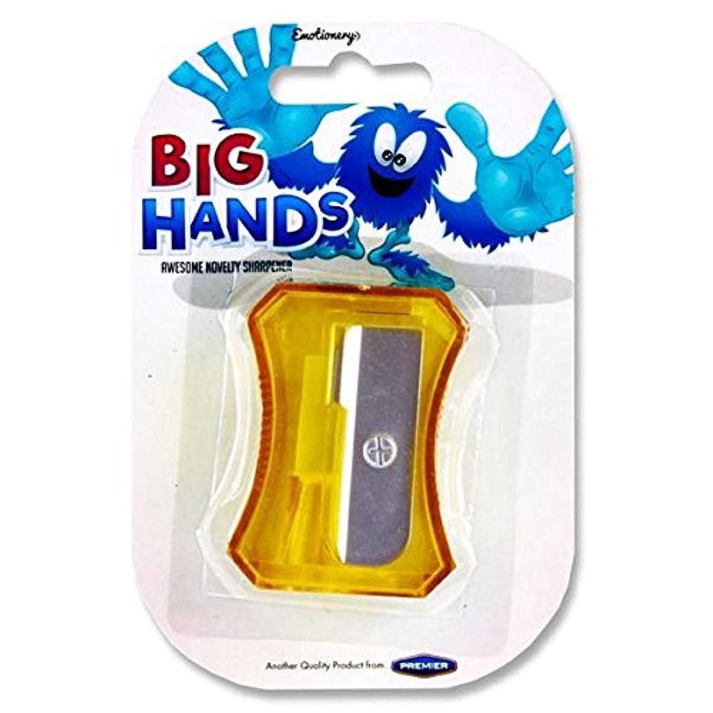 Premier Stationery Large Awesome Novelty Sharpener - Big Hands.