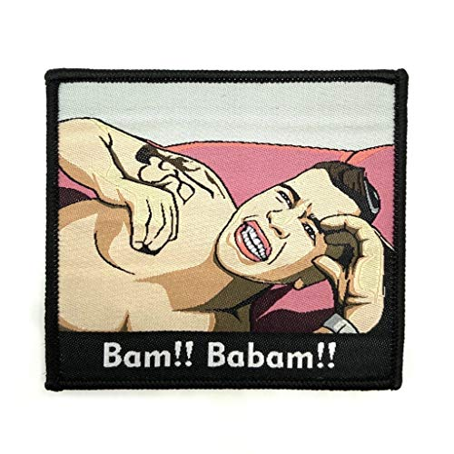 polizeimemesshop Bam Babam Textil Patch