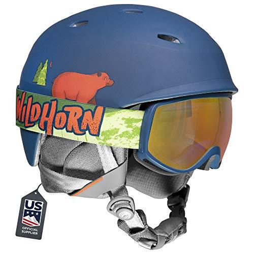 Wildhorn Spire Snow & Ski Helmet w/Goggles for Kids