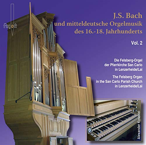 Mitteldeutsche Orgelmusik Vol.2