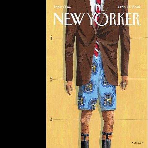 Couverture de The New Yorker (March 24, 2008)