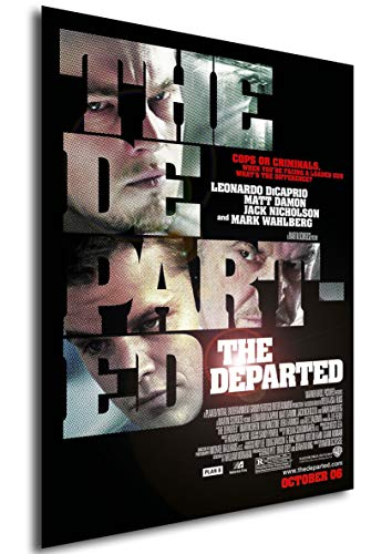 Instabuy Poster The Departed (Unter Feinden) - Theaterplakat - A3 (42x30 cm)
