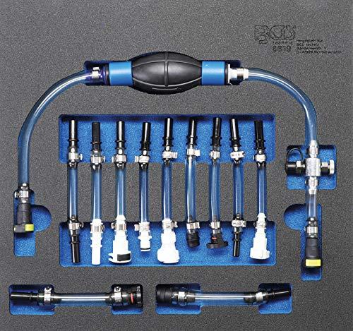 BGS 8819 | Diesel-Niederdruckkreis-Entlüftungs-Satz | 12-tlg | für Ford, PSA, Opel, Fiat, Rover, Land Rover, Renault, Mercedes-Benz