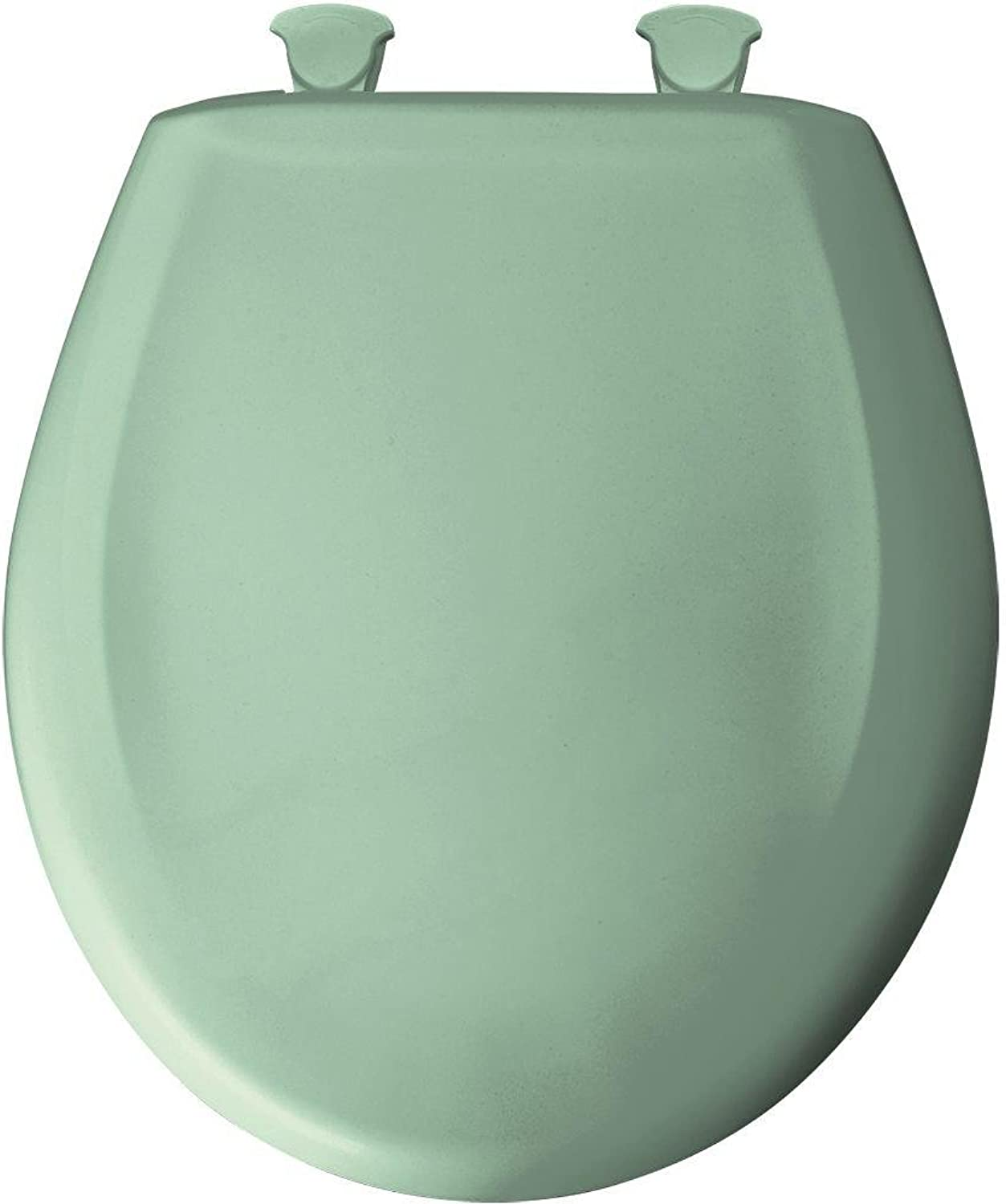 Church Seat 200SLOWT 035 Whisper Close Round Closed Front Toilet Seat in Sea Green