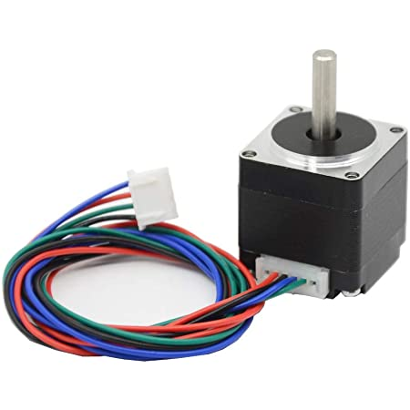 Iverntech Nema 11 Stepper Motor 28mm Body 1.8 Stepper Angle 0.8A 2 Phase 4-Lead with 50CM Cable for 3D Printer, CNC Machine and Robotics