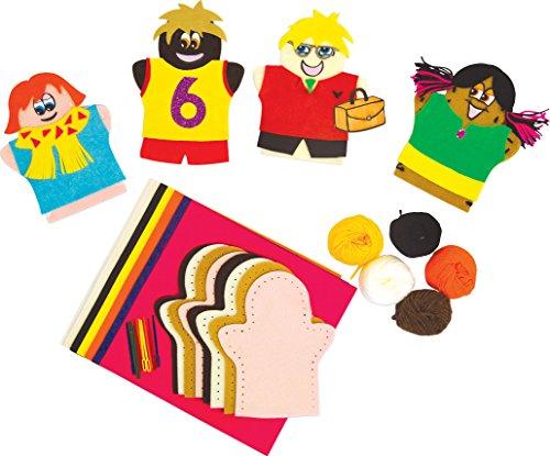 Springboard maken mensen poppen naaien ambachtelijke activiteit Pack (Pack van 30)