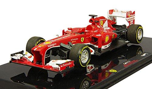 Hotwheels - Elite (Mattel) - Bck13 - Véhicule Miniature - Modèle À L'échelle - Ferrari F1 - 2013 - Echelle 1/43
